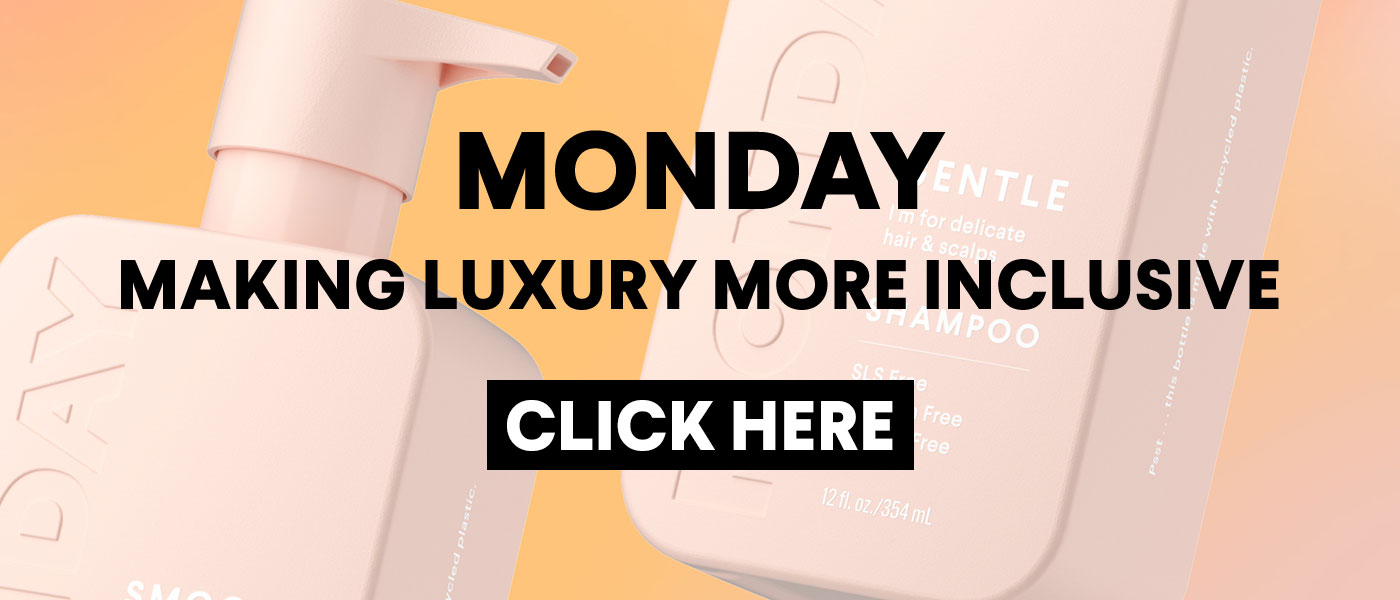 Monday hair care, shampoo, conditioner for hair styling