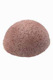 NATURAL KONJAC SPONGE Red Clay Konjac Sponge