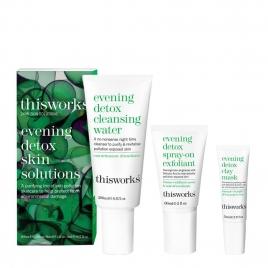 evening detox skin solutions kit