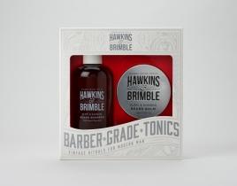 Hawkins & Brimble Beard Gift Set (Beard Shampoo & Balm)