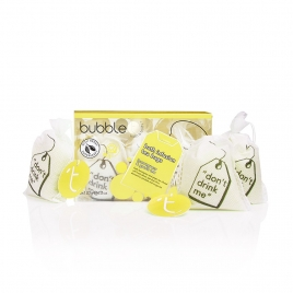 Bath T-bags in Lemongrass & green tea (3 x 120g)