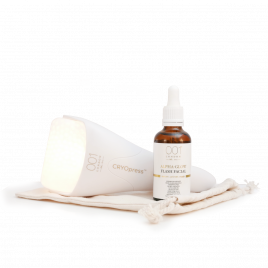 Alpha-Flash Facial Set (CRYOpress+Alpha-Glow Flash Facial 3 in 1 Serum 50ml)