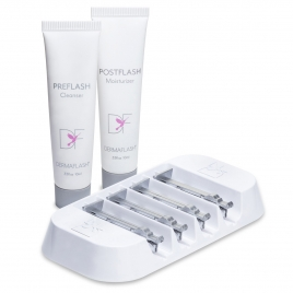 DERMAFLASH LUXE ESSENTIALS  REPLENISHMENT KIT 4 WEEK SUPPLY