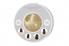 Instant Length Clip In - Cappuccino Brown SE