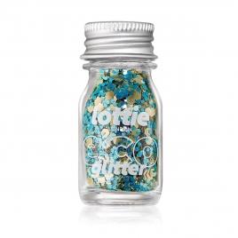 Eco Glitter Stargazer Loose Biodegradable Glitter Gold/Turquoise