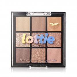 Lottie Palette  The Rose Golds  Mix  9 Shade E/S Palette