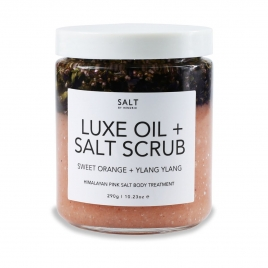 Luxe Oil +  Salt Scrub - Sweet Orange + Ylang Ylang