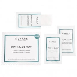 NuFACE Prep N Glow Cleansing Cloth for skincare and removing wrinkles