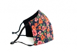 LADIES CHERRY BLOSSOM PRINTED FACE MASK BY ILOUNJ