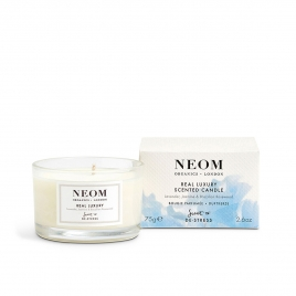 Real Luxury Scented Candle from Neom Organics, home fragrance from Beauty Solutions