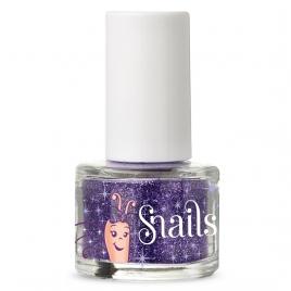 Purple blue nail glitter